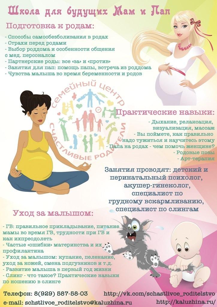 Афиша Сергиев Посад Мини-курс по подготовке к родам (Однодневный кур