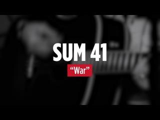 SUM 41 'War' Live Acoustic - 2016
