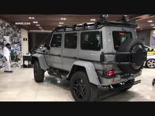 مرسيدس 2018 برابوس 4X4 550 hp نسخة ادفينتشر brabus 4x4² 550 يوصل السعوديه