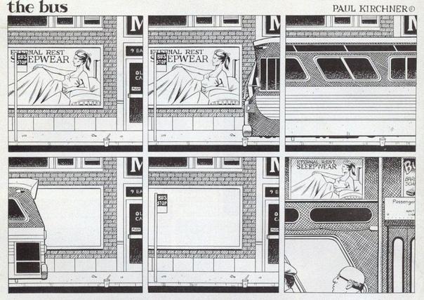 Серия абсурдистских автобусных комиксов для журнала Heavy Metal с 1976 по 1985 гг.