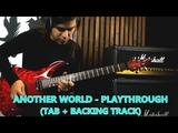 Олег Изотов - ANOTHER WORLD (TAB + Backing Track)