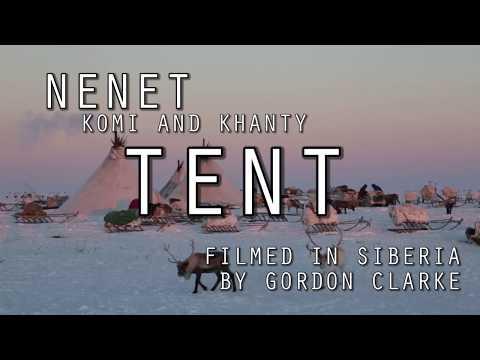 Nenet, Komi and Khanty Reindeer Skin Tents - Ненет, Коми Ханты палатки