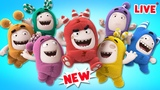 Oddbods CRAZY-BODS Oddbods ALL NEW FULL EPISODES COMPILATIONS Funny Cartoons for Kids LIVE