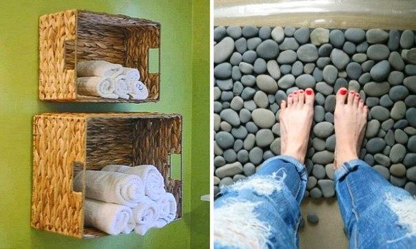 20 хитростей для превращения ванной в лучшую комнату в доме: ↪