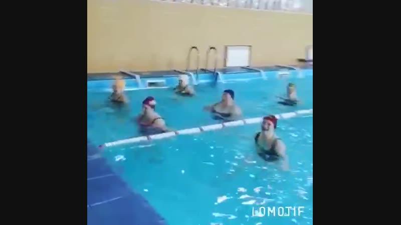 CosmosFit AQUA тренировка