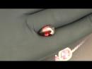Бордово красный Гранат Альмандин Замбия Вес 7 15 Ct Размер 16*10 мм Наша Дизайнерская огранка Спб Граней в районе 100 шт Полноце