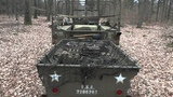 Dodge WC51 weapons carrier with trailer