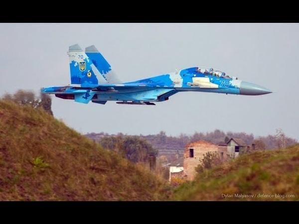 Игорь Сивак Я - СУ-27УБ ВВС Украины (Я - Су-27 ВПС ЗСУ) LIVE
