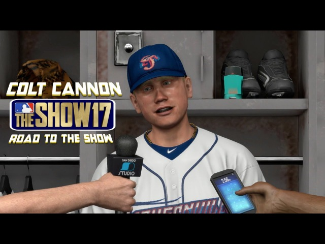 MLB The Show 17 Colt Cannon Road To The Show Left Fielder EP3 AA Debut! MLB 17