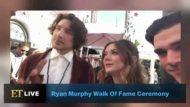 Interview with ryan murphy, billie lourd, cody fern and finn wittrock for et live