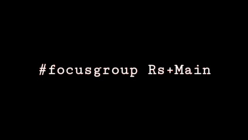 Focus Group RsMain Павел Катунин и Яна Степочкина