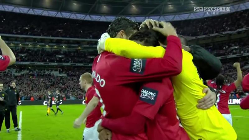 Manchester United vs Tottenham Hotspur (01_03_2009) - Penalty