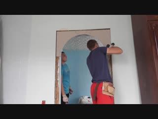 Как сделать арку из гипсокартона - Заметки строителя