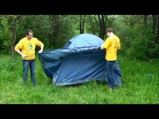 Видеообзор № 26 - кемпинговая палатка Trek Planet Tahoe 4.