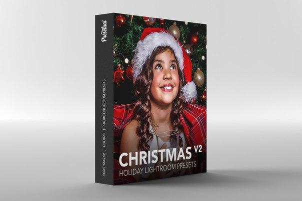 Пресет Сборник рождественских пресетов 2 для lightroom