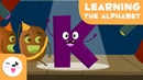 Learn the letter K with kiwis - Learning the alphabet - Phonics For Kids