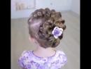 Красивая причёска в школу