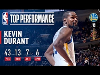 Kevin Durant | EPIC 43 Point Performance In Game 3 | 2018 NBA Finals