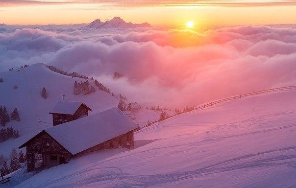 Гора Риги, Швейцария.