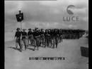 Sul fronte somalo, il generale Graziani passa in rivista le legioni di mutilati