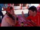 Олеся общается с болельщиками из Швейцарии В пятницу матч с Сербией в Кёниге