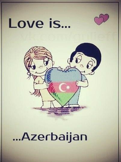 Картинки азербайджанские с надписями про любовь