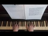 Harmonical solfeggio lesson - tutorial. Rusyaieva # 5 example on