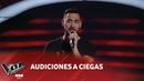 Pablo Fava Hasta el final David Bisbal Audiciones a ciegas La Voz Argentina 2018
