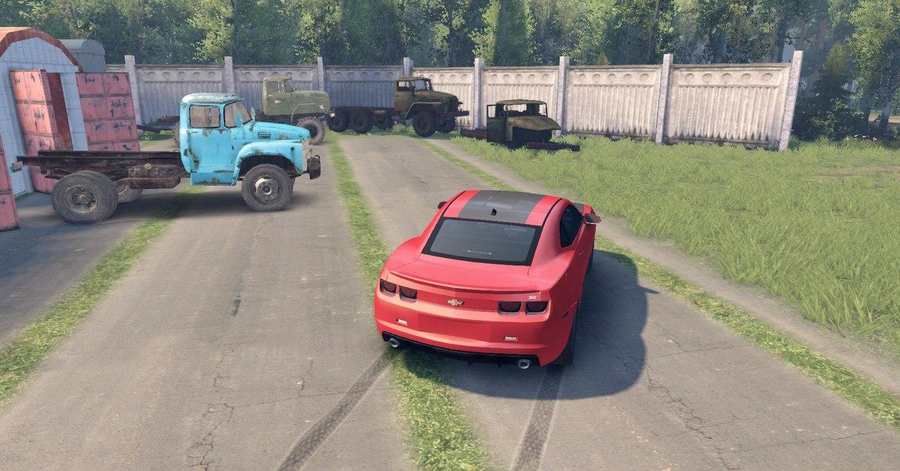 Chevrolet Camaro для Spintires - Скриншот 1