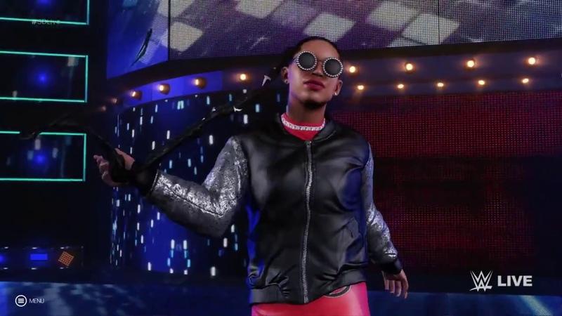 WWE 2K19 entrance - Bianca Belair (Full HD)