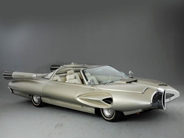 Поразительные формы концепт-кара Ford X-2000 Концепт Ford X-2000 был разработан в 1958-м году промышленным дизайнером Алексом Тремулисом, на тот момент сотрудничавшим с американской