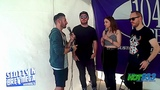 CHVRCHES INTERVIEW BACKSTAGE AT ACL 2018 W SCOTTY K