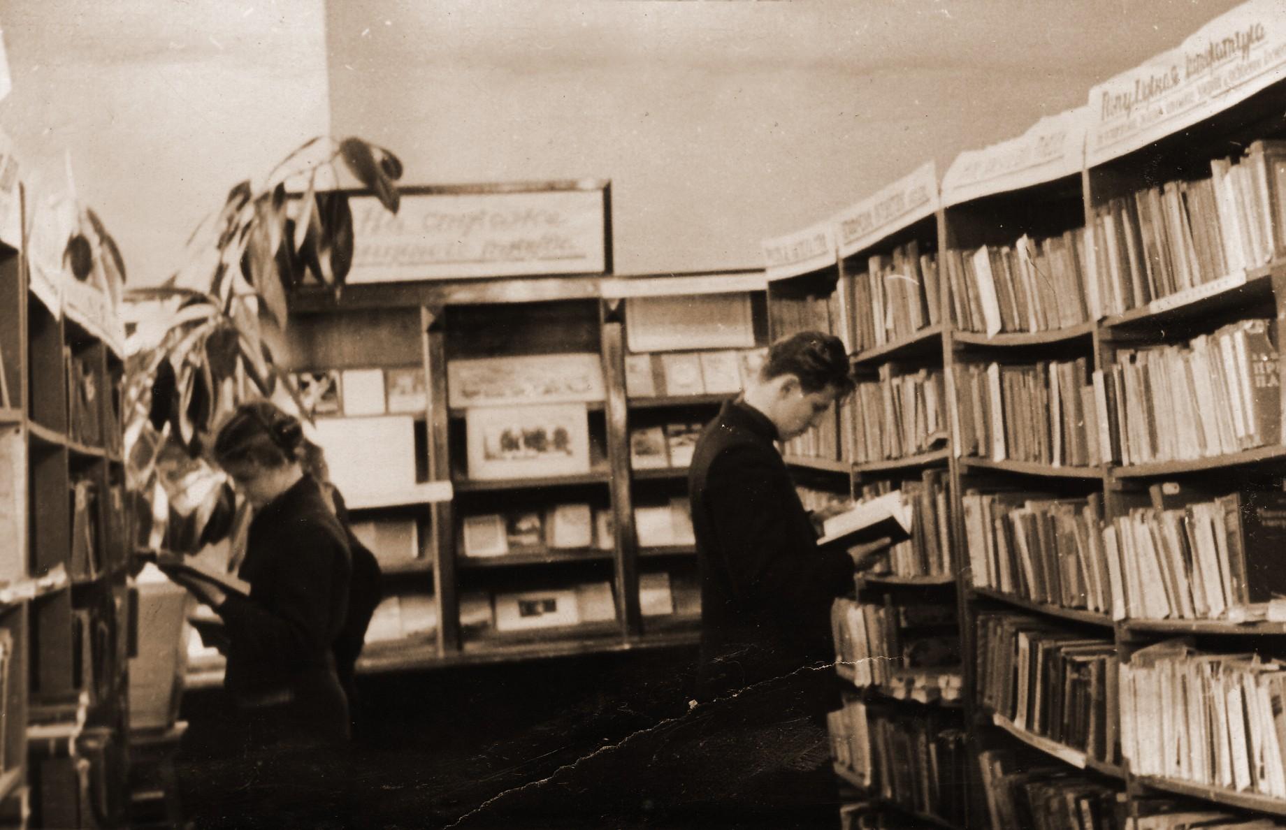 завоевал популярность ссср фото библиотек в переулках челка становится все