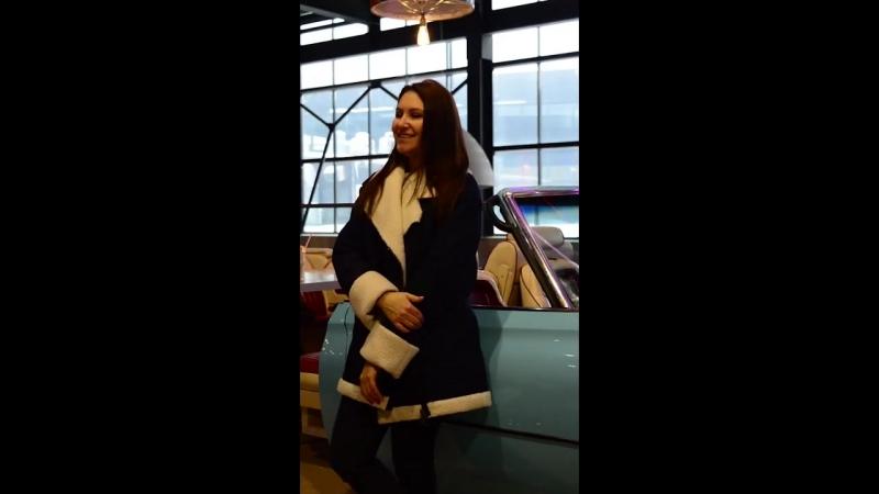 Джинсовая куртка с мехом NadeZhda