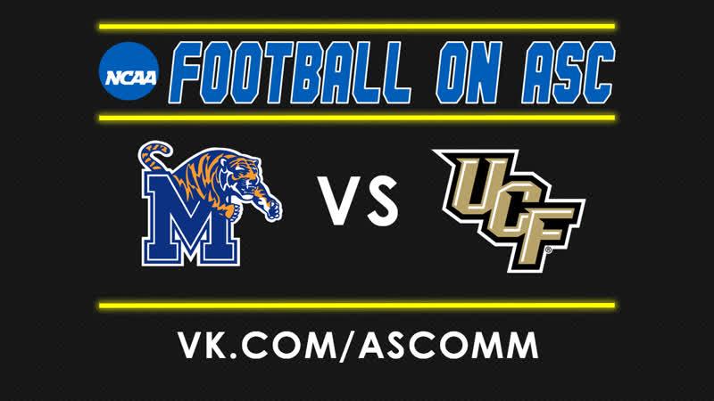 NCAAF Memphis VS UCF