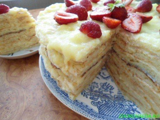 Торт просто и вкусно рецепт с фото