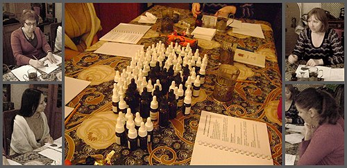 Мастер-класс Натальи Светлой в Музее парфюмерии