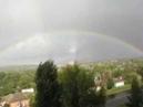 ОГРОМНАЯ Радуга. Красивая радуга после дождя. Радуга на все небо. beautiful rainbow.