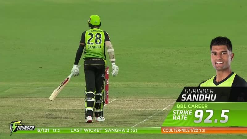 Sydney Thunder v Perth Scorchers Highlights, Jan. 2, 2019 - AUSTRALIA - CRICKET - BBL - КРИКЕТ