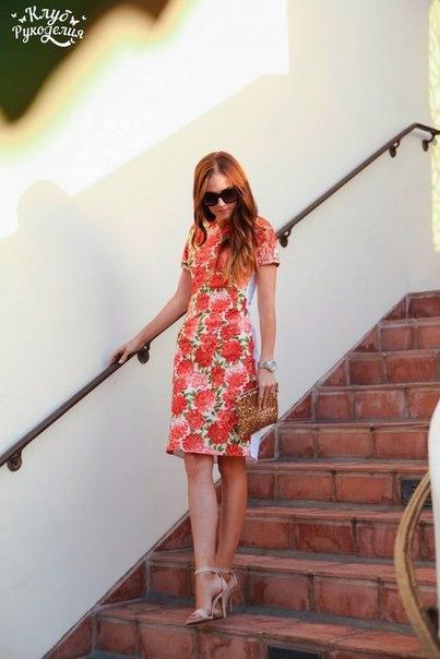 Платье. Выкройка (6 фото) - картинка