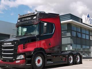 Scania S650-T CAB V8 Power 6X2 Next Generation 2019 (Limited Edition)