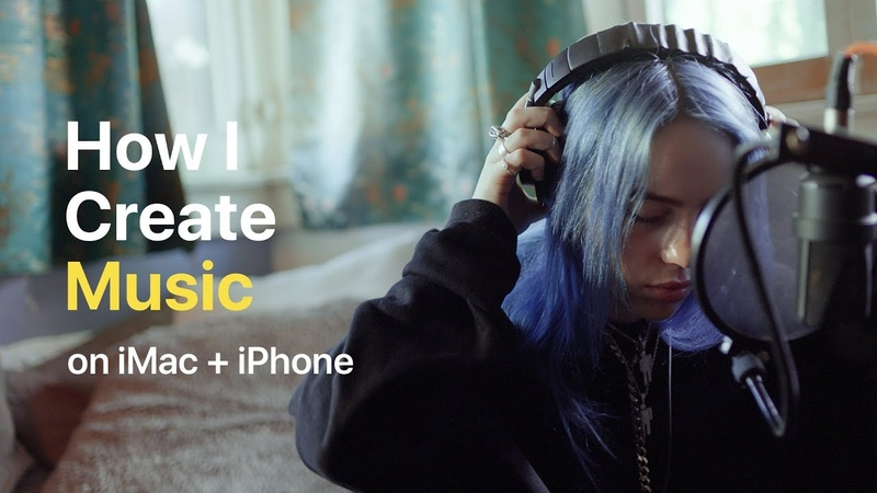 Holiday — How I Create Music on iMac and iPhone ft. Billie Eilish — Apple