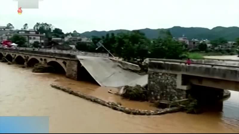 큰물에 의한 피해를 막기 위한 대책을 철저히 세우자