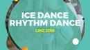 Sara Campanni/ Francesco Riva (ITA) | Ice Dance Rhythm Dance | Linz 2018