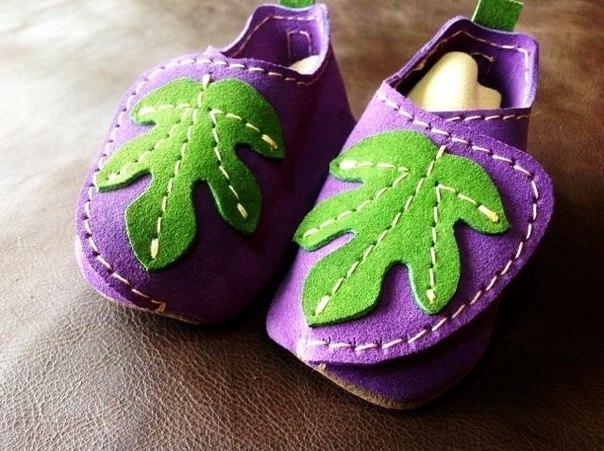 Шьем ботиночки для малышей (9 фото) - картинка