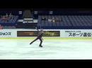 ISU 2014 Jr Grand Prix Ostrava Men Free Skate Daniil BERNADINER RUS