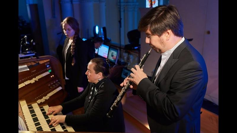 От Вивальды до Пьяццоллы орган гобой и флейта в Соборе на Малой Грузинской 02 06 2017