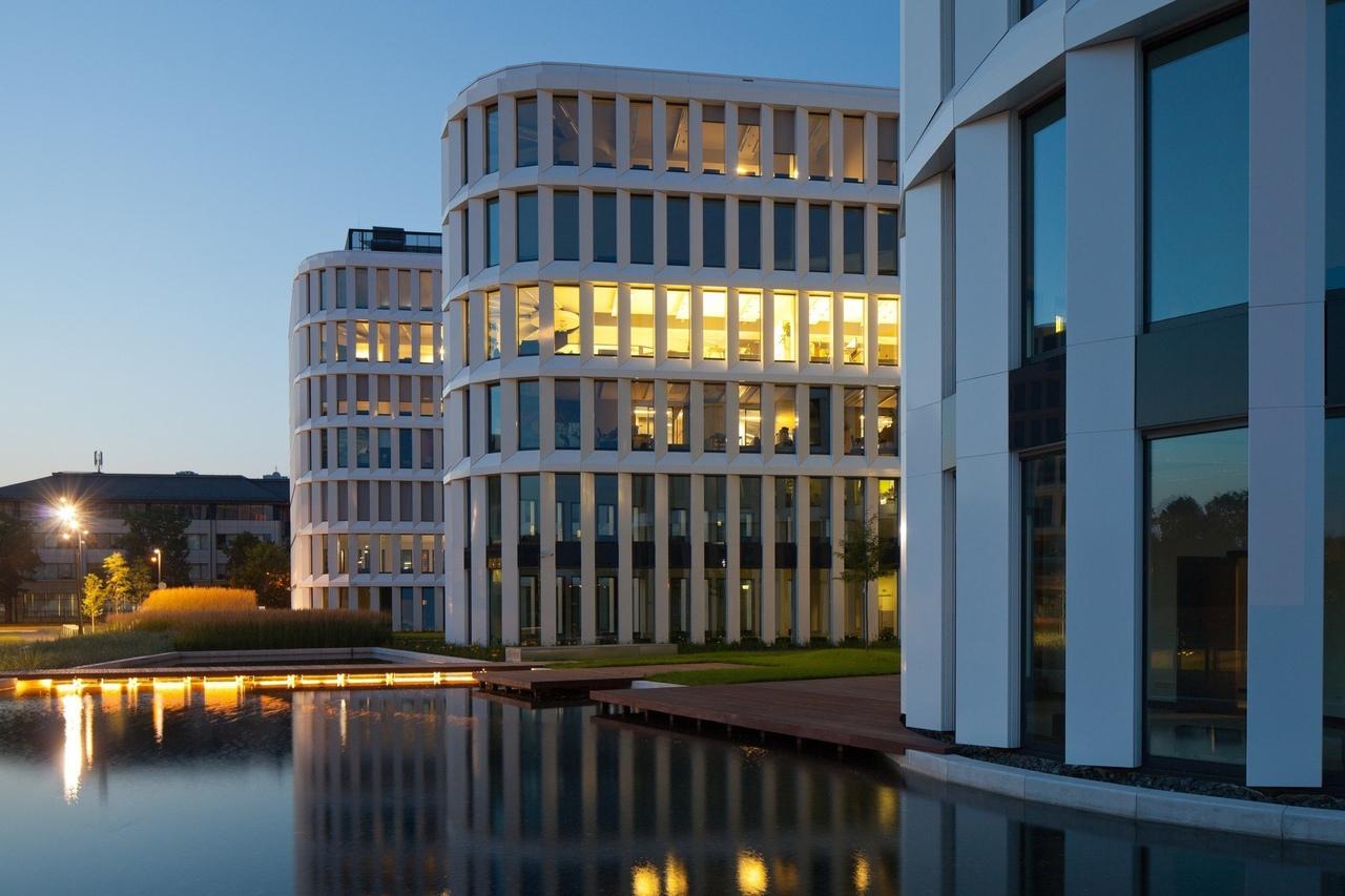Business Garden Warszawa Hotel / Studio Fuksas / Żwirki i Wigury, Warsaw, Poland