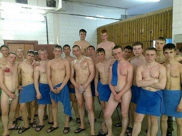 Фото голых курсантов