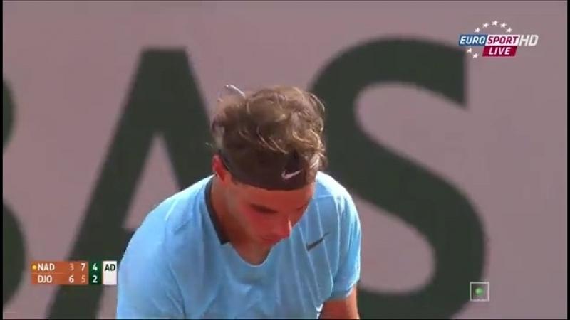 Теннис Ролан Гаррос 2014 Финал Рафаэль Надаль – Новак Джокович (2)ч